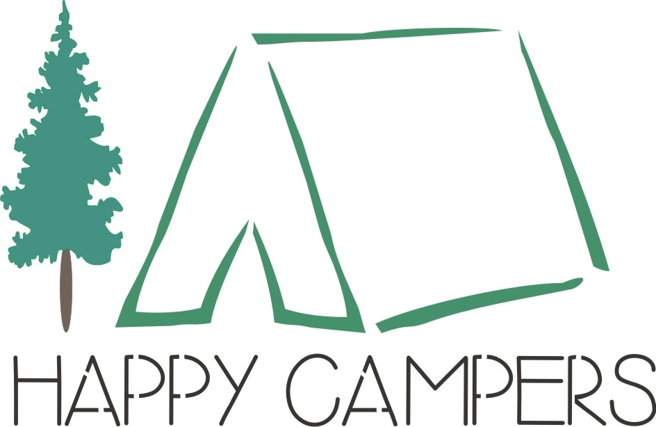 sc 1 st  Scrappinu0027 Along & Happy Campers with tent graphic 12 x 7.5