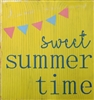 "Sweet Summer Time 11.5 x 11.5"" Stencil"