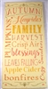"AUTUMN Hayrides Family Harvest...11.5 x 24"" stencil"