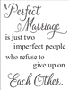 "A Perfect Marriage 11.5 x 15"" stencil"