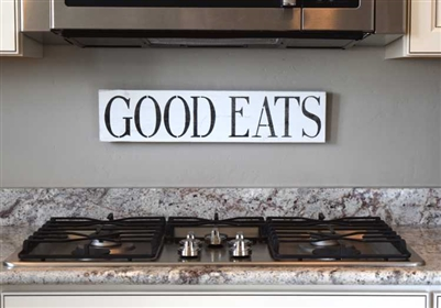 Good Eats Two Size Choices Stencil
