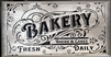 "Bakery Bread & Cakes Fresh Daily 22 x 12"" Stencil Stencils DIY Graphic Graphics"