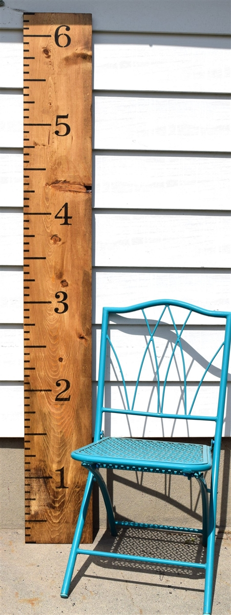 Giant Ruler Four Piece Set Growth Chart Style