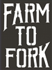"Farm to Fork 8.5 x 11.5"" Stencil"