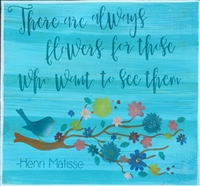 There are always flowers for those who want to see them. -Henri Matisse Stencil stencils