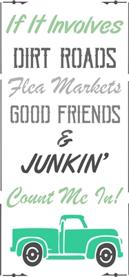 If It Involves DIRT ROADS