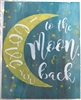 "I Love You To The Moon and Back 26.75 x 27.75"" Stencil Set LARGE"