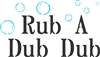 "Rub A Dub Dub with Bubbles 9 x 5.5"" Stencil"