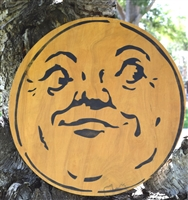 Vintage Man in Moon Stencil -Three Size Choices