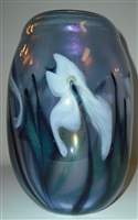 Charles Lotton Neodymium Vase
