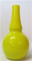 Charles Lotton Bud Vase Yellow Nu 26 V