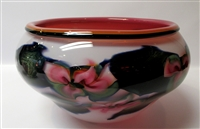 Charles Lotton  Large Multi Flora Bowl