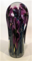 Robert Lagestee Tall Teardrop Paperweight