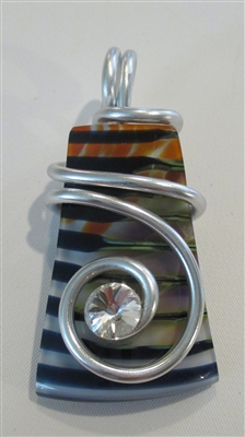 Kim Lotton Art Glass Pendant