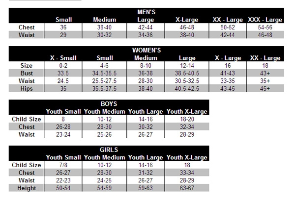 Under Armour Youth Size Chart Best