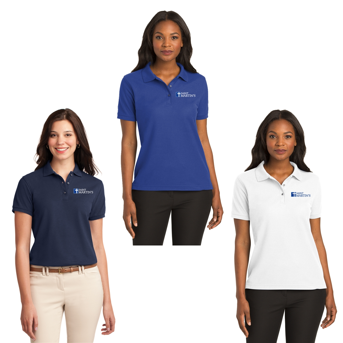 eacc28a15 Port Authority® Ladies Silk Touch™ Polo. L500