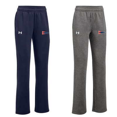 Ladies UA Hustle Fleece Pants
