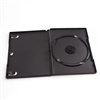 Black Single Disc DVD CASE 14MM Prem