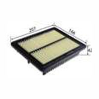 <h2>Mitsubishi Minicab 90-2013, Flat Air Filter</h2>