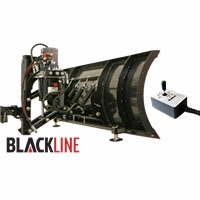 "Blackline 52"" Snow Plow, Full Hydraulic  Lift & Angle"