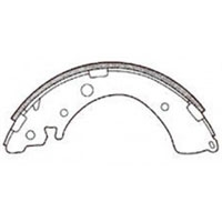<h2>FN5520 Honda  Brake Shoes, Acty 90-09, Accord, Civic & others</h2>