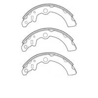 Mitsubishi Minicab 98, Nissan Clipper 2003-12, Rear Brake Shoe