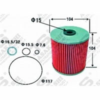 Hino Bayliner, Oil Filter Element, DIESEL