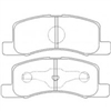 <h2>Mitsubishi Minicab/Nissan Clipper, '98, Front Disc Brake Pads</h2>