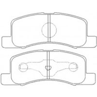Mitsubishi Minicab/Nissan Clipper, '98, Front Disc Brake Pads