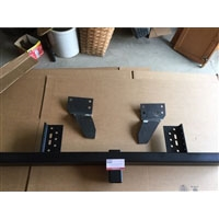 "<h3>Rear Bumper, Heavy Duty, 2"" Receiver, 1998 and older Minitruck</h3>"