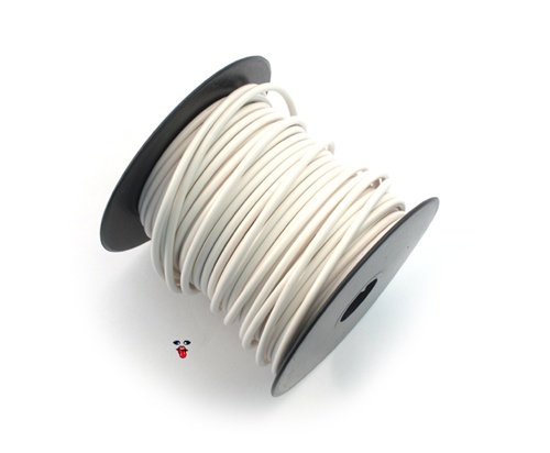 16 Gauge Moped Electrical Wire White By Da Fo