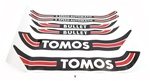 tomos bullet 2 speed automatic decal set