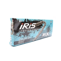 SILVER 415HD iris RX super reinforced drive chain - 120 links