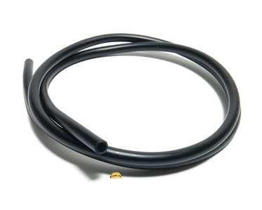 "midnight BLACK polyurethane fuel line 3/16"" (5mm) - 3.25ft piece"