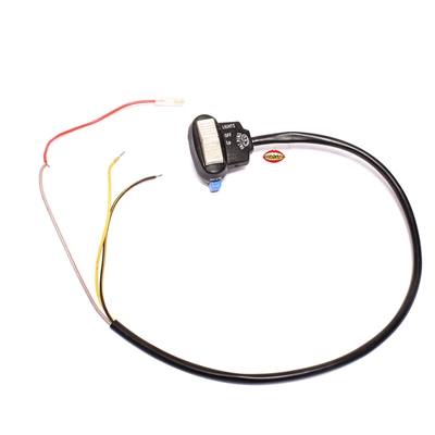 CEV plastic lights and horn switch w/ wire harness