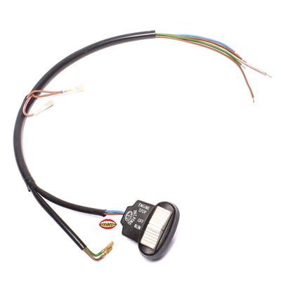 CEV plastic on off switch w/ wire harness