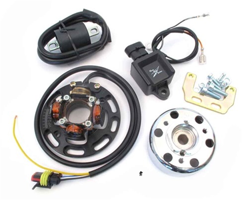 HPI CDI mini rotor ignition system for yamaha RD250, DS7, RD350, YR5, RD400