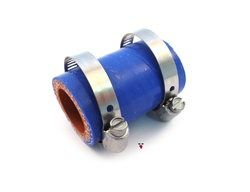 LBMopeds BLUE woven silicone rubber mount for dellorto PHBG & PHVA carburetors