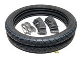 fashionable racing TIRE PARTY in 17 x 2.25