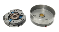 OEM puch 3 shoe e50 kick start clutch AND clutch bell party pack