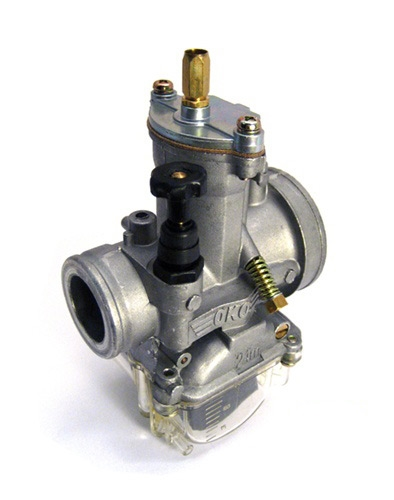 OKO 21mm carburetor with clear float bowl