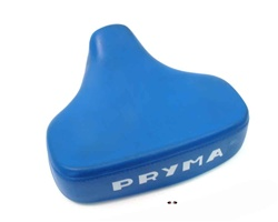 Pryma padded single seat cover - blue