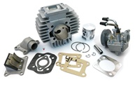 puch athena AJH 70cc 45mm reed cylinder kit - complete