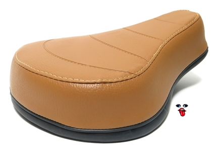 SLAMMED single seat - NO LOGO - CARAMEL