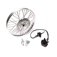 treat black on silver disc brake PARTY V1