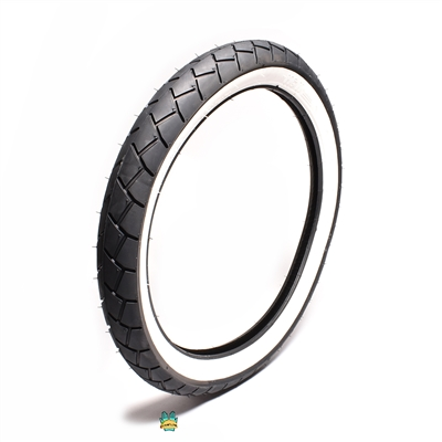 sava MC11 white wall moped tire - 17 x 2.75