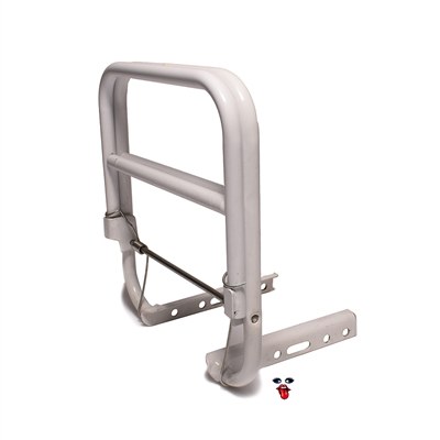 vespa piaggio rear SPRINGER 12 pack rack - white