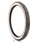 continental white wall tire 19 x 2.25