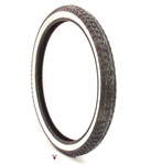 continental white wall tire 19 x 2.50
