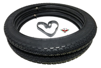 DEMM smily / scout tire partee pack in 16 x 2.25